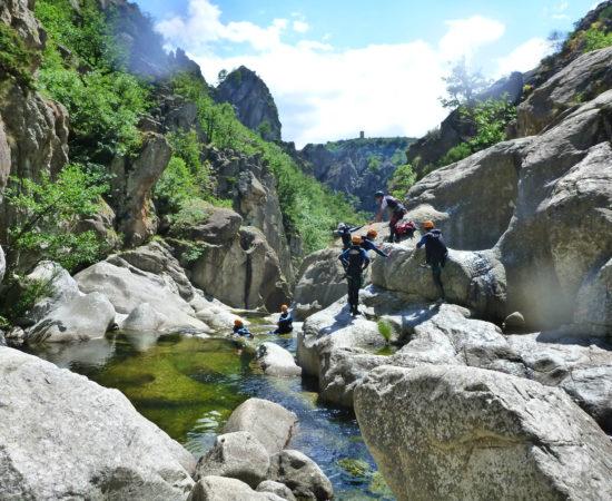 Vidéo du canyon du Haut Chassezac en Lozère