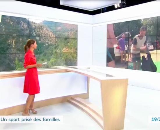 Reportage de France 3 pour le JT National