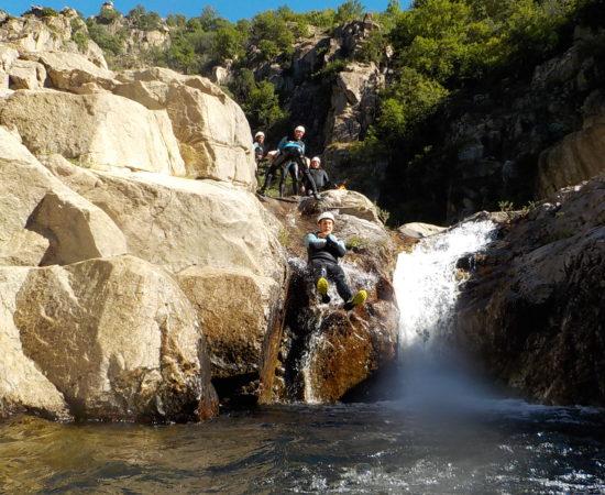 Venez découvrir le canyon du Bas Chassezac en famille !