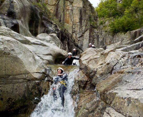 EVG Canyoning Haut Chassezac Lozère