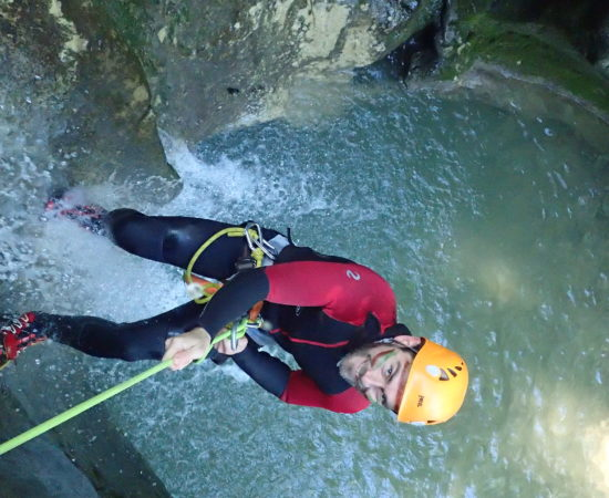 EVG en Canyoning à Grenoble en Isère